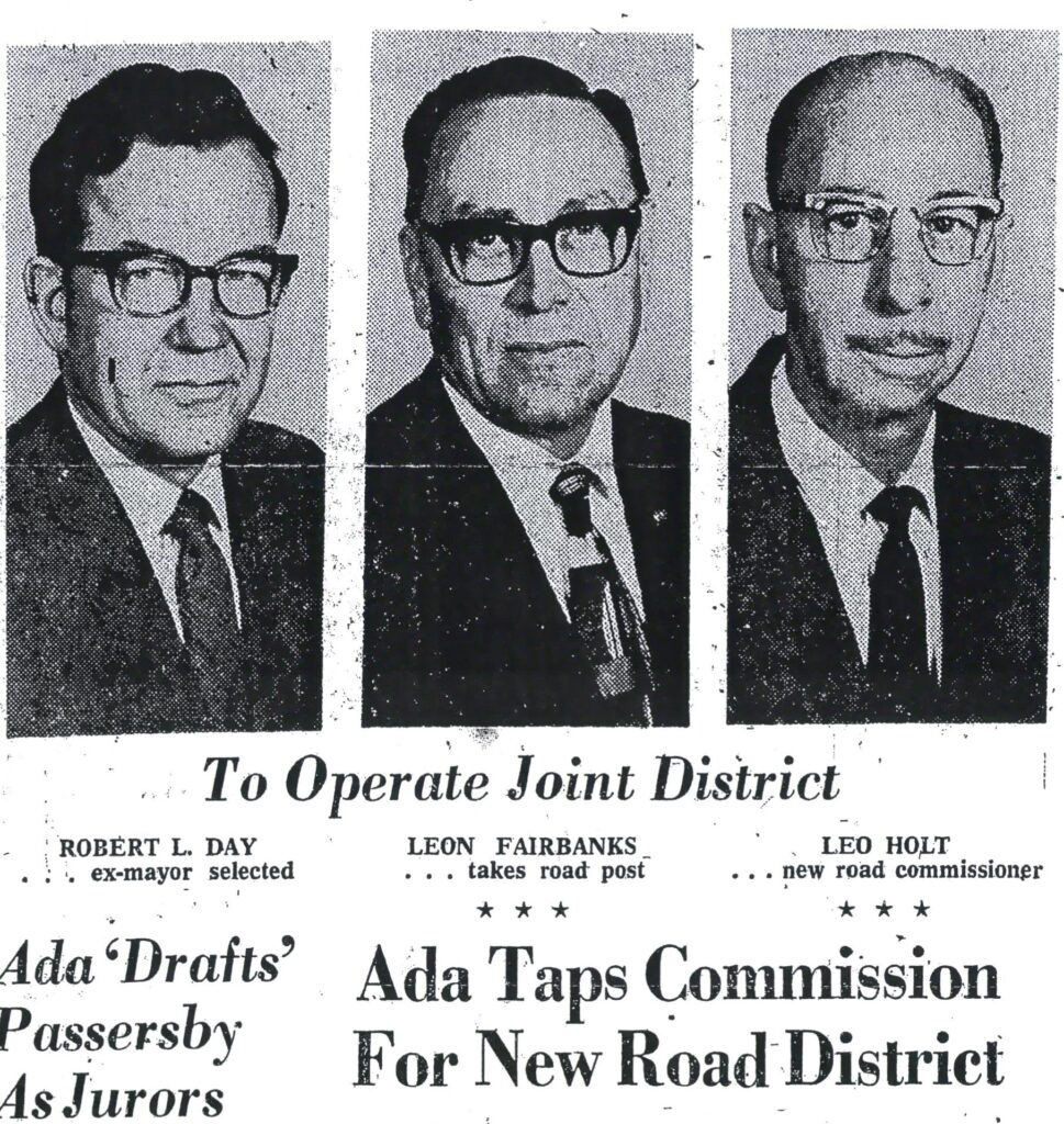 Photograph of first ACHD Commission